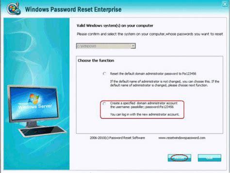 windows reset password enterprise windows password reset enterprise by anmosoft studio