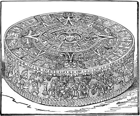 aztec calendar coloring page books worth reading tabatha yeatts the opposite of indifference aztec calendars