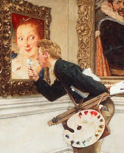 Tom Mcmahon The Art Critic Oedipal Norman Rockwell