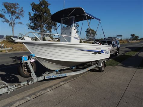 brisbane yamaha used boats for sale this one owner quintrex 500 centre console 2002