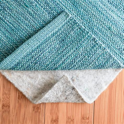 100 Felt Rug Pad Thick - rug pad central 8 x 10 100 felt rug pad thick
