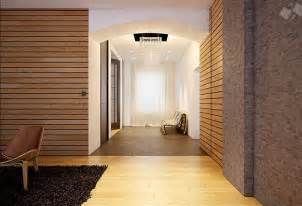 Home Interior Wall Pictures Modern Wood Clad Interior Walls Interior Design Ideas
