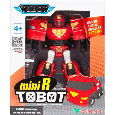 Tobot Mini Transform Robot tobot mini r transforming robot toys kingdom en