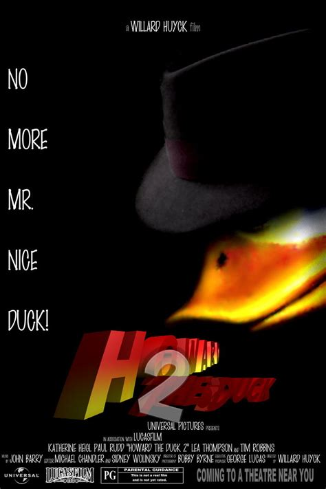 marvel film howard the duck howard the duck by ryansd on deviantart
