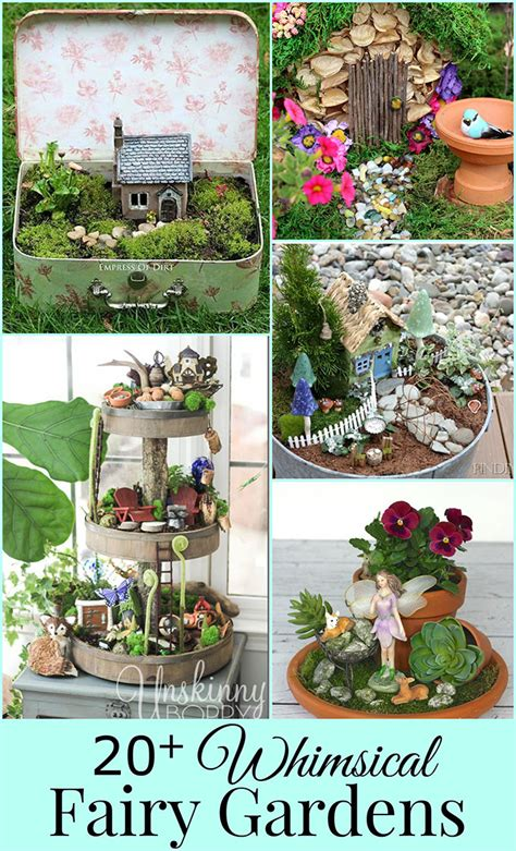 fairy garden plans and decor ideas create a magical backyard 20 whimsical diy miniature fairy garden ideas house of