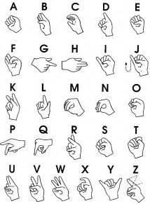 Sign Language Alphabet Chart  New Calendar Template Site sketch template