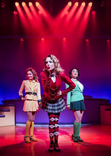 phone  amy clark dressing  girls  heathers  musical   york