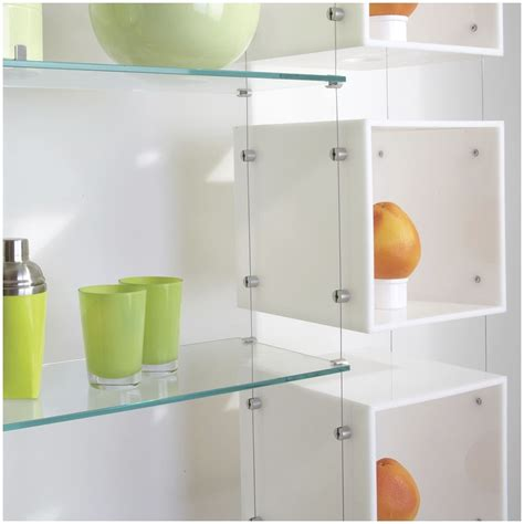 contemporary shelving systems 15 best ideas of suspended glass shelves