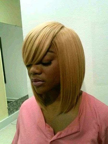 how to do a swoop bang on african american hair african american bob hairstyles with bangs the best