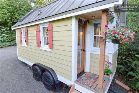 rent a tiny house for vacation 16 tiny houses cabins and cottages you can rent or