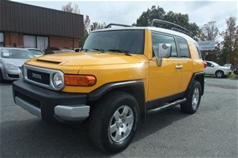 old car manuals online 2007 toyota fj cruiser user handbook find used 2007 toyota fj cruiser six speed manual transmission 4wd excellent condition in