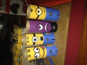 Minion Toilet Paper Roll Craft - diy minion toilet paper roll craft minion