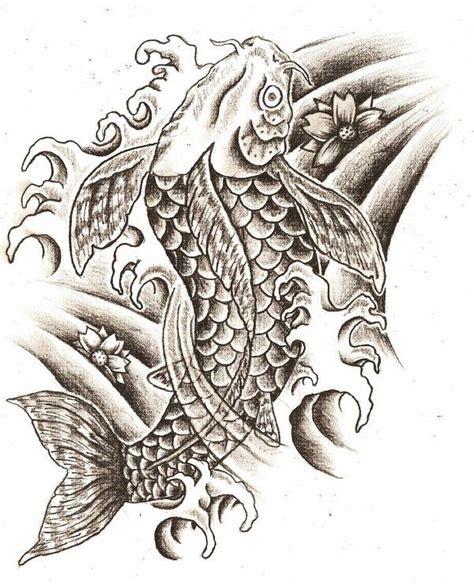 sket tattoo ikan koi coy fish tattoo meaning black and white koi fish tattoo