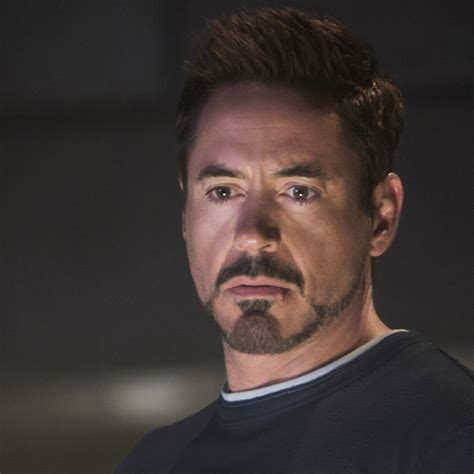 Iron Tony Stark iron beard style downey jr as tony stark in