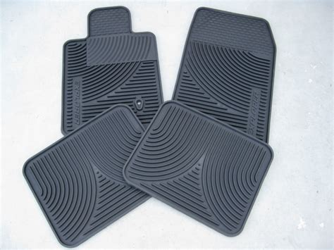 2004 Ford Explorer Floor Mats by 2001 2002 2003 2004 2005 2006 Ford Explorer All Weather Floormats Black 4 Pc Set Ebay