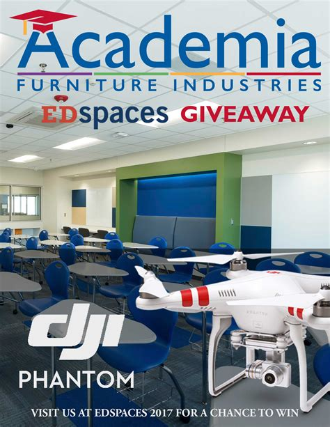 furniture sweepstakes 2017 academia furniture proudly presenting at edspaces 2017