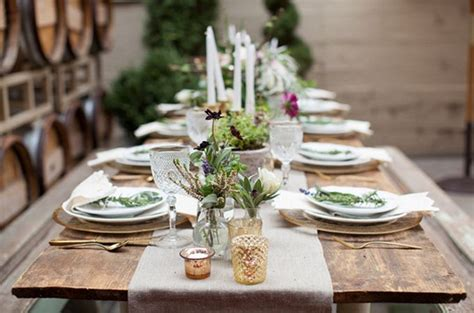 rustic tablescapes 1000 images about setting the table on pinterest place