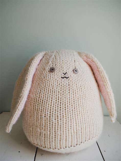 bunny knitting pattern free bunnies to knit 26 free patterns grandmother s pattern