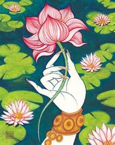 Lotus In Hinduism Lotus In Hinduism Symbolizes Prosperity Fertility