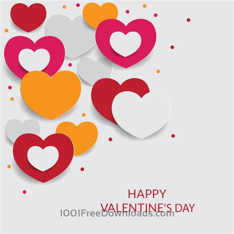 free valentines vectors free vectors happy s day vector illustration