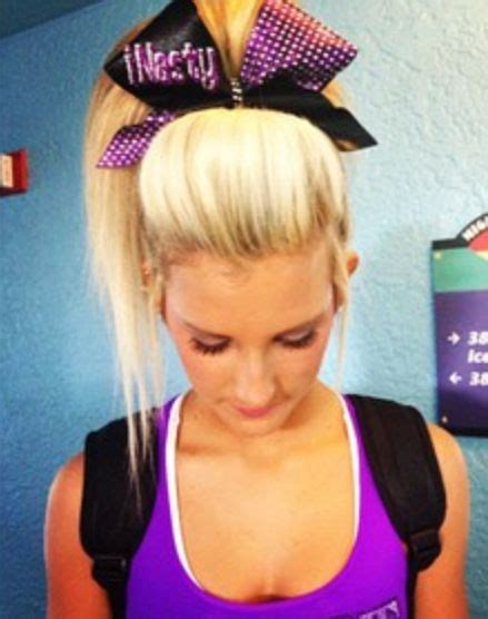 cheerleader hairstyles images 17 best images about cami branson on pinterest