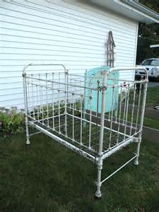 Wrought Iron Baby Crib Wonderful Antique Wrought Iron Bed Crib By Casualhomestyle
