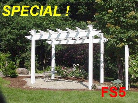 vinyl pergola kits parts prices plans designs