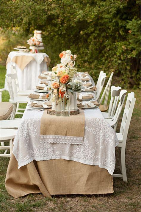 outdoor decoration ideas  rustic weddings