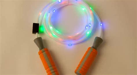 light up jump colorful light up rgb skipping led jumping buy
