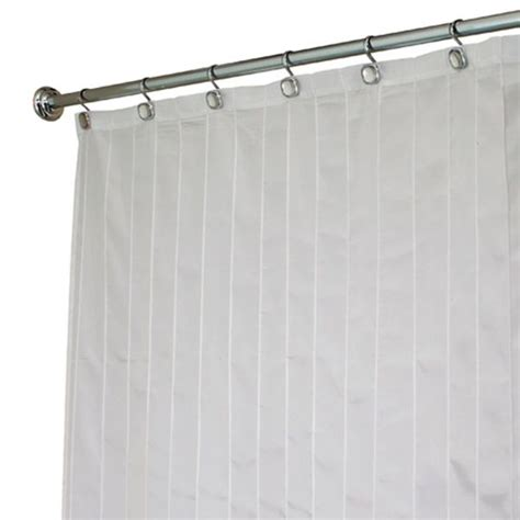 pleated shower curtain bedbathstore 96 quot extra long white pin tuck classic pleated