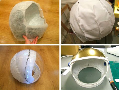 How To Make A Paper Helmet - paper mache astronaut helmet page 2 pics about space
