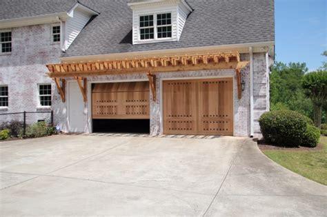 Garage Door Repair Johns Creek Ga Custom Wood Garage Doors From Aaron Overhead Doors Atlanta