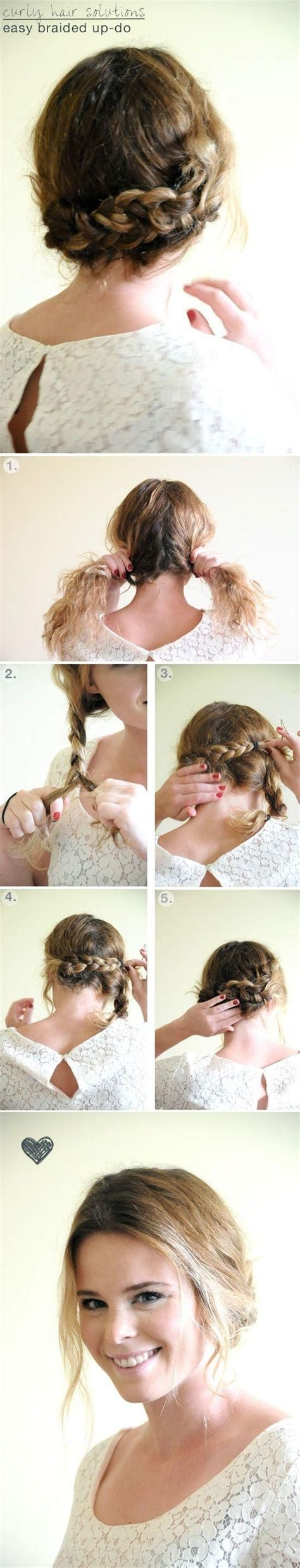 hair tutorials for medium hair simple braided updo hairstyle tutorial updos for medium