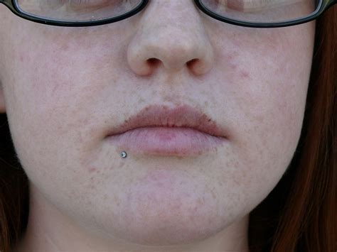 inner bottom lip piercing bottom lip piercing aftercare variations pictures
