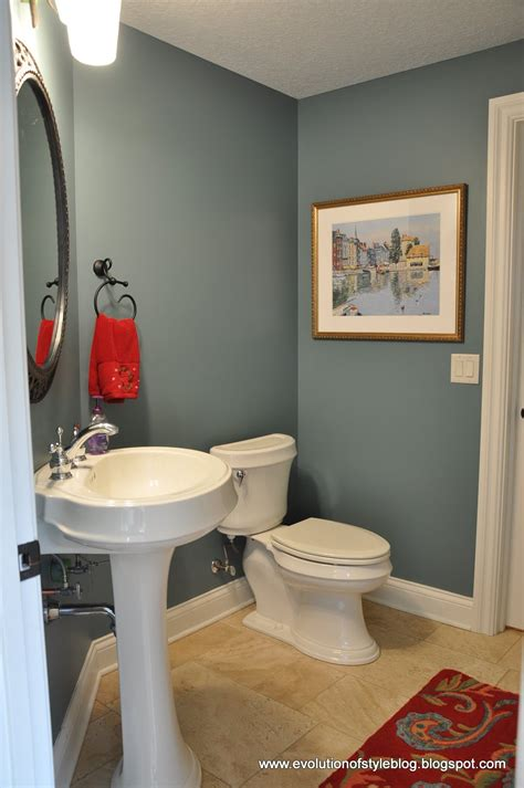 powder room color ideas guest color palette jenny from evolution of style