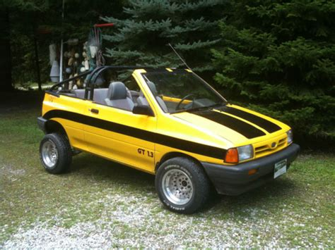 how make cars 1992 ford festiva parking system 1993 ford festiva customized convertible 2 door 1 3l classic ford fiesta 1993 for sale