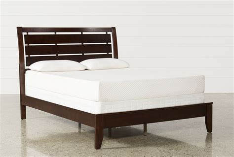 full size bed width chad full panel bed living spaces
