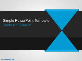 powerpoint template free simple ppt template