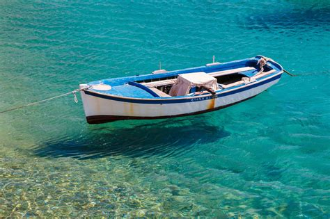 small boat pictures blue white boat free stock photo public domain pictures