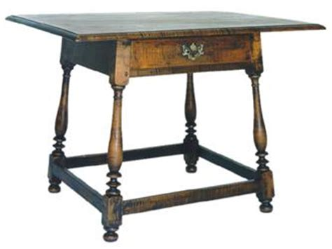 Table And Tavern by L W Crossan Cabinetmaker Pennsylvania William