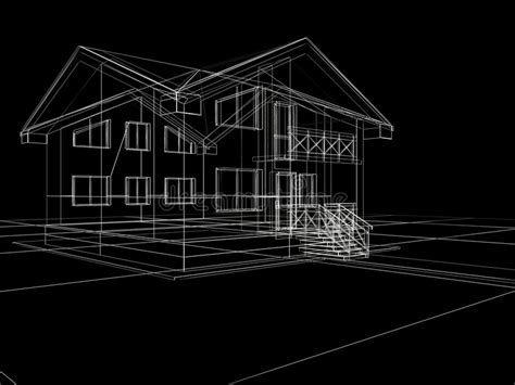 house plan vector background royalty free stock images image 4646979 3d house in black background royalty free stock photography image 7916157