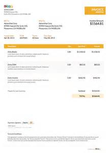 Ms Word Template Invoice by Free Word Invoice Template Zoho Invoice