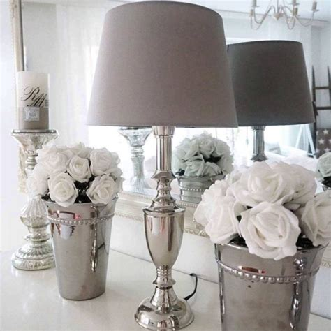 silver home decor delectable 40 silver home decor decorating design of