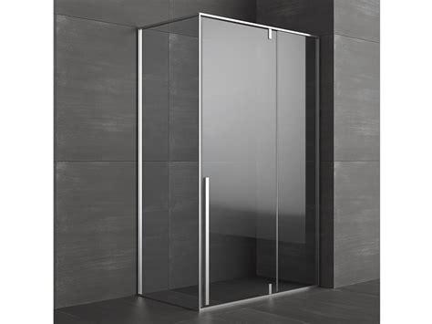 glass doccia box doccia angolare con porte pivotanti kahuri collezione