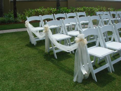 Outside Home Decor Ideas by Ceremony Pew And Chair Decorations