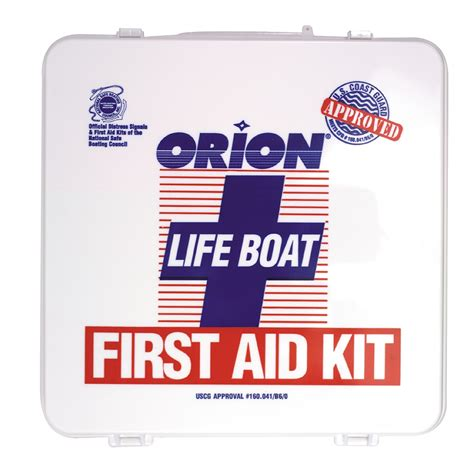 boat first aid kit orion life boat first aid kit 811 anchor express