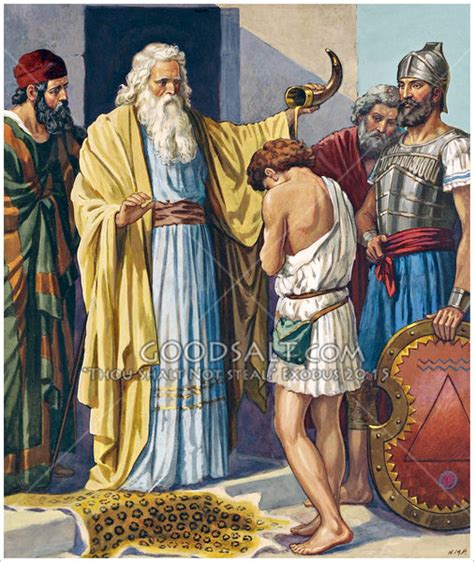 Kid Joel Putih david anointed at bethlehem