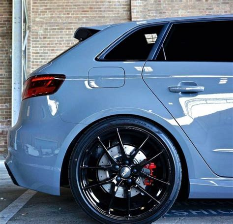Audi Rs3 Grau by Nardo Grey Audi Rs3 A3 Nardo Wheels And Grey
