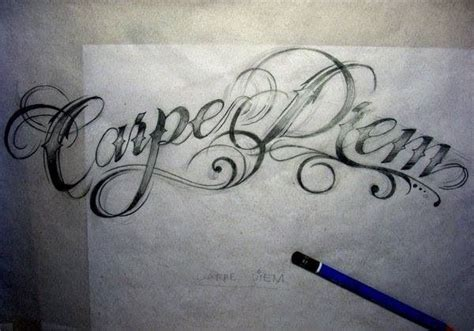 seize the day tattoo designs carpe diem quotes fonts i want and