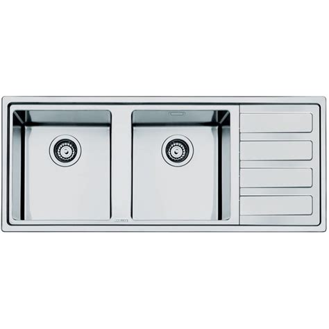 Smeg Kitchen Sinks Smeg Ld116d 2 Mira Kitchen Sink 2 Bowls Brushed Stainless Steel Fa